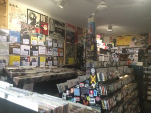 Rough Trade is home to hundreds of vinyls and CDs from all different decades. Mixing old and new, mainstream and left field, and all sorts of genres, Rough Trade has maintained its place as a dominant figure in the music industry (photo by John Towfighi).